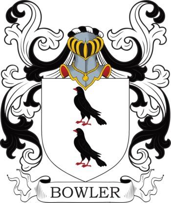 Bowler family crest