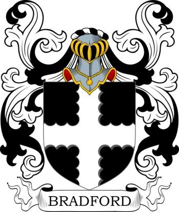 BRADFORD family crest