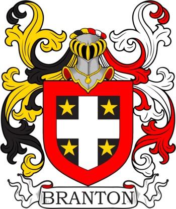 BRANTON family crest