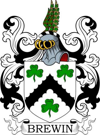 BREWIN family crest