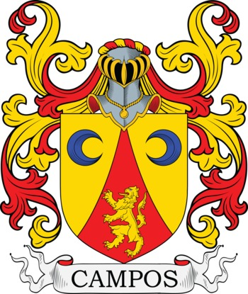 CAMPOS family crest