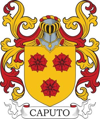 CAPUTO family crest