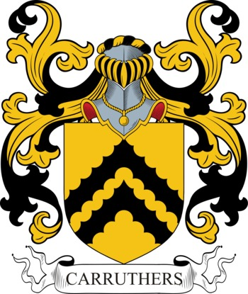 CARRUTHERS family crest