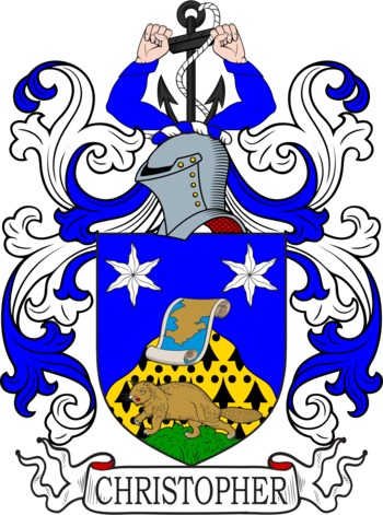 CHRISTOPHER family crest