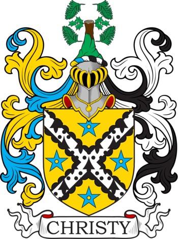 CHRISTY family crest