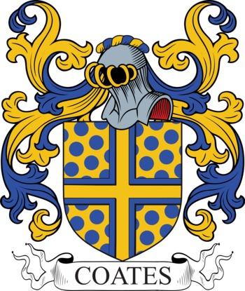 Coates family crest