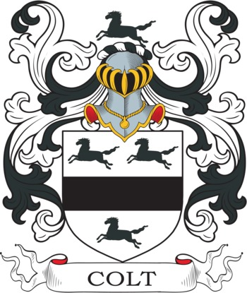 COLT family crest