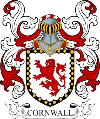 CORNWALL family crest