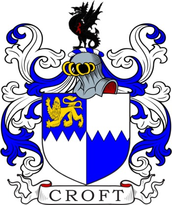 CROFT family crest
