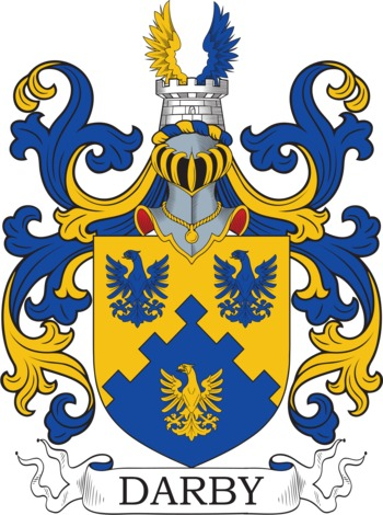 DARBY family crest