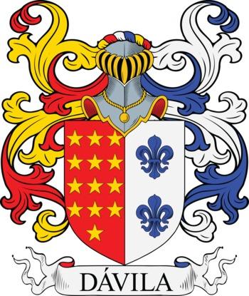 DAVILA family crest