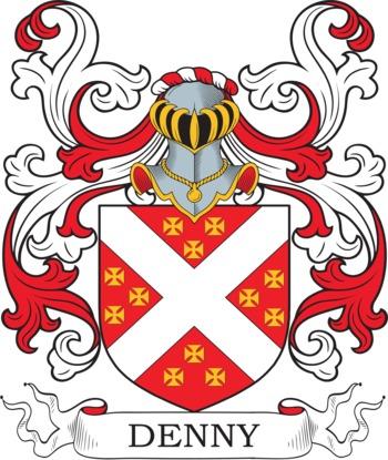DENNY family crest