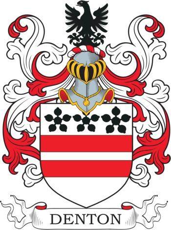 DENTON family crest