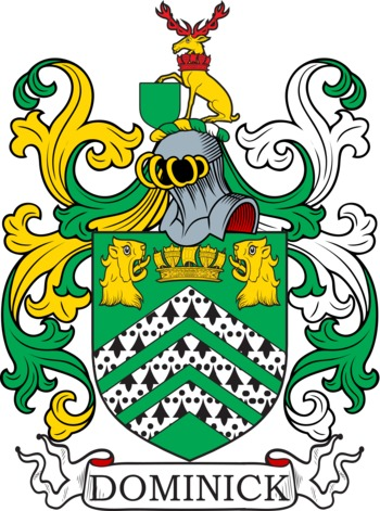 DOMINICK family crest