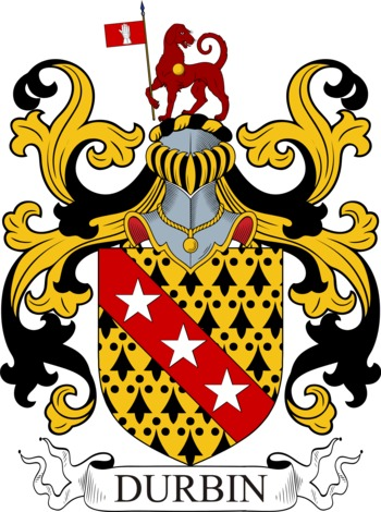 DURBIN family crest