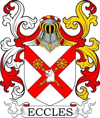 ECCLES family crest