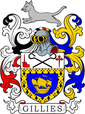 GILLIES family crest