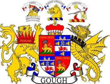 GOUGH family crest