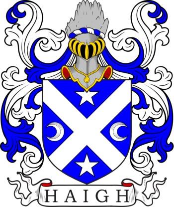 HAIGH family crest