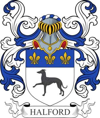 HALFORD family crest