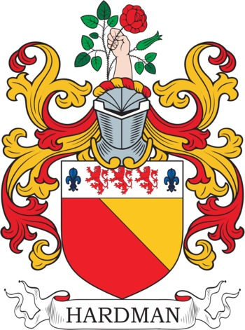 HARDMAN family crest