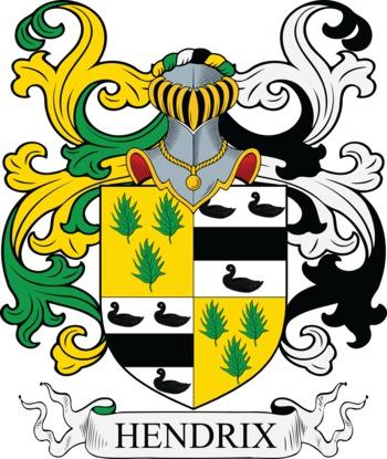 HENDRIX family crest
