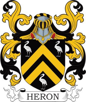 HERON family crest