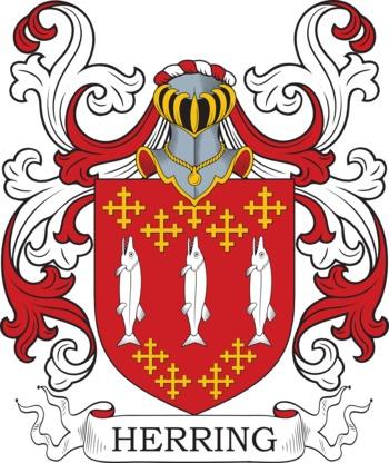 HERRING family crest