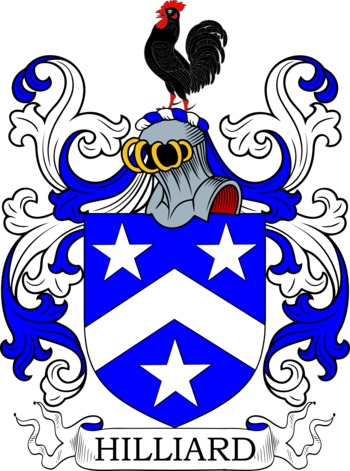Hilliard family crest