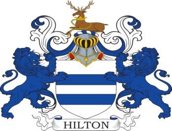 HILTON family crest