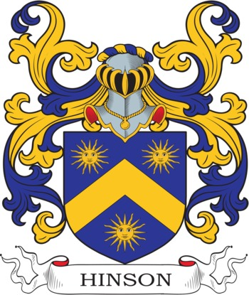 HINSON family crest