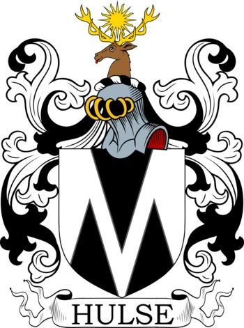 HULSE family crest