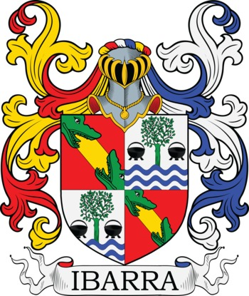 IBARRA family crest