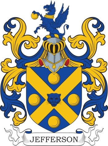 JEFFERSON family crest