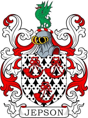 JEPSON family crest