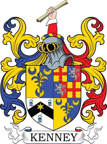 KENNEY family crest