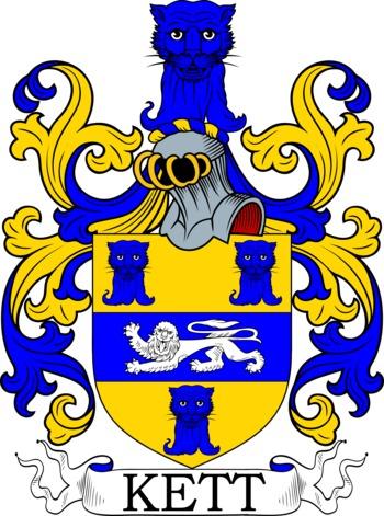 KETT family crest