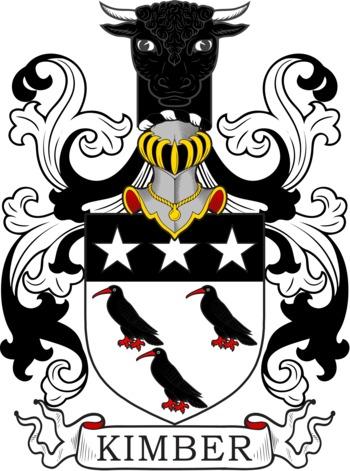 KIMBER family crest