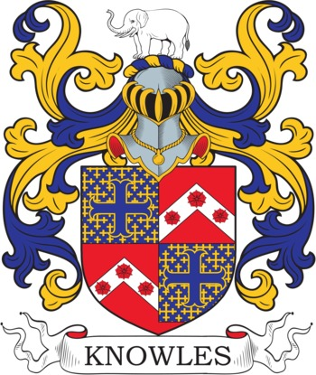 KNOWLES family crest