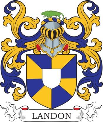 Landon family crest