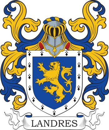 LANDRY family crest