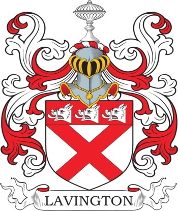 LAVINGTON family crest