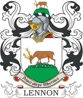 LENNON family crest