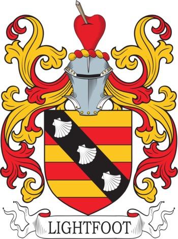 Lightfoot family crest