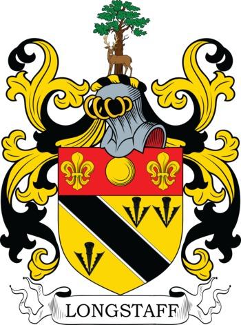 Longstaff family crest