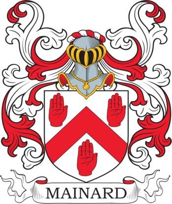 MAINARD family crest