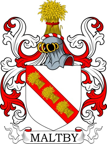 MALTBY family crest