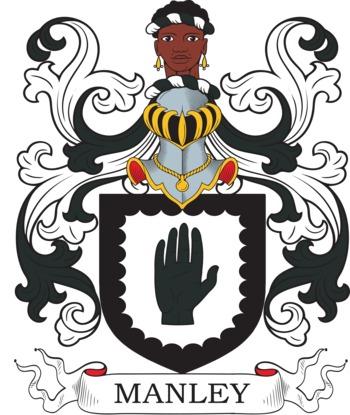 MANLEY family crest