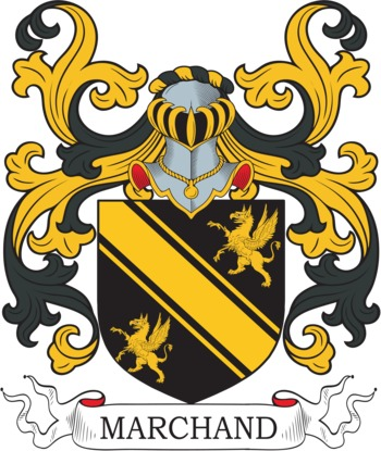 MARCHAND family crest