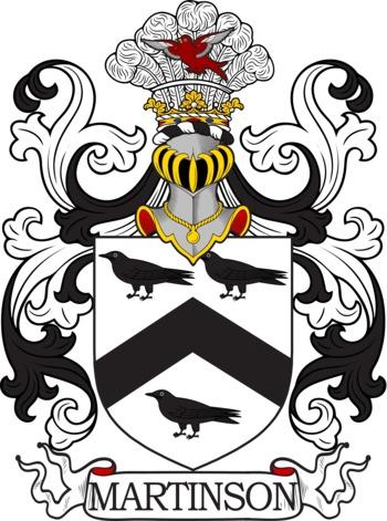 MARTINSON family crest